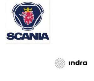 Firma convenio SCANIA e INDRA SOFT LABS con EFA Moratalaz