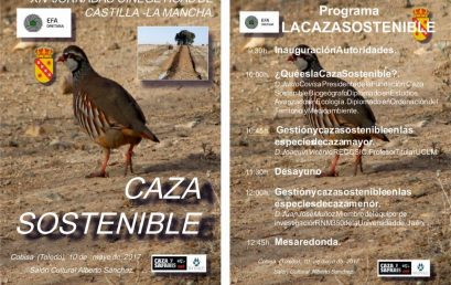 XIV Jornadas Cinegéticas de C-LM. La caza sostenible