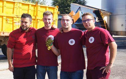 Tres antiguos alumnos de EFA Molino de Viento