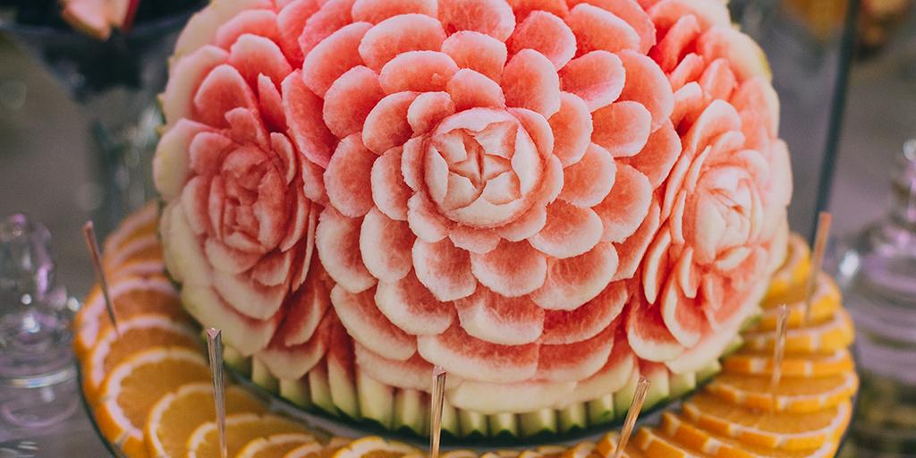 Esculpido de Frutas y Verduras