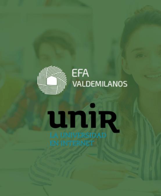 EFA Valdemilanos firma un acuerdo de colaboración con UNIR