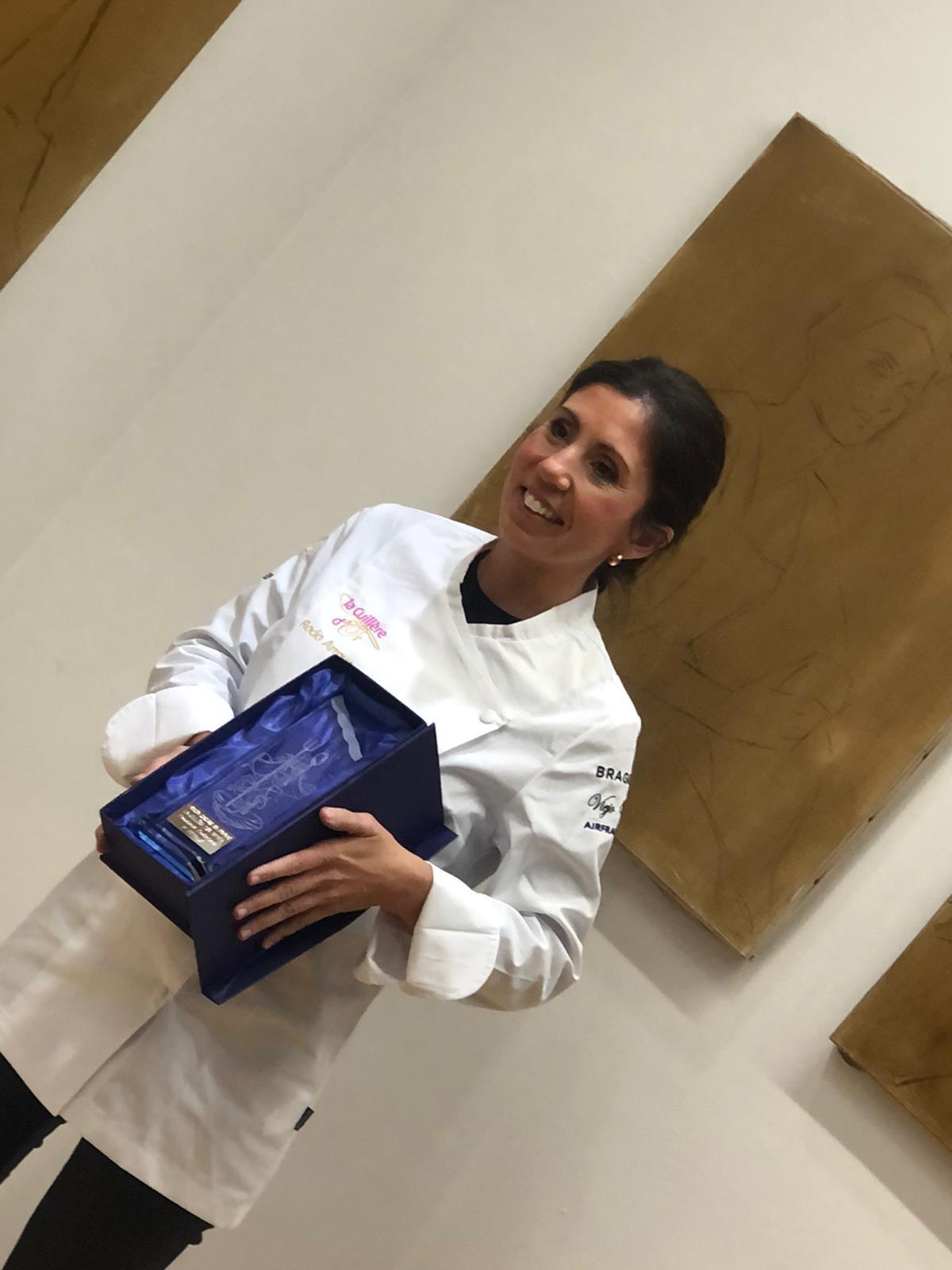 Rocío Arroyo; profesora de EFA La Serna, ganadora de la Cuillère d'Or