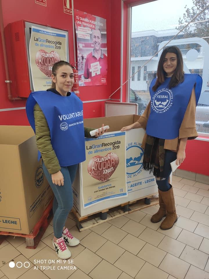 EFA La Serna y su colaboración con el banco de alimentos