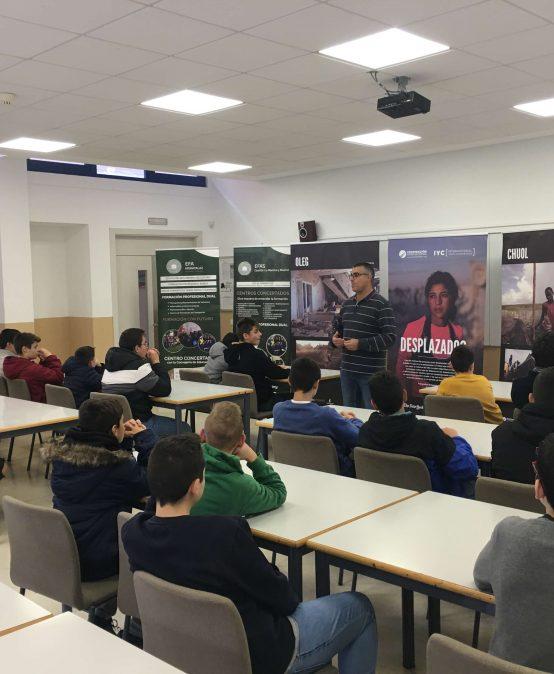 EFA Moratalaz colabora con proyectos de Cooperación Internacional