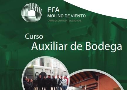 Nueva edición del curso Auxiliar de Bodega
