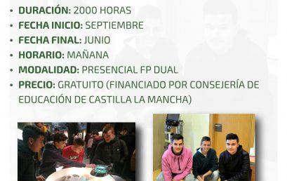 Formación Profesional Básica en Informática y Comunicaciones en Efa Moratalaz