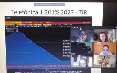 """""""Los mercados financieros"""", tertulia profesional en el GM Administrativo"""