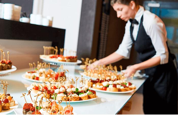 Operaciones básicas de catering