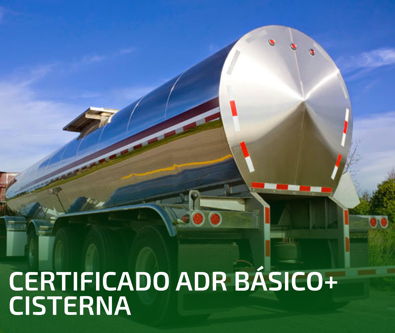 CERTIFICADO ADR BÁSICO + CISTERNA