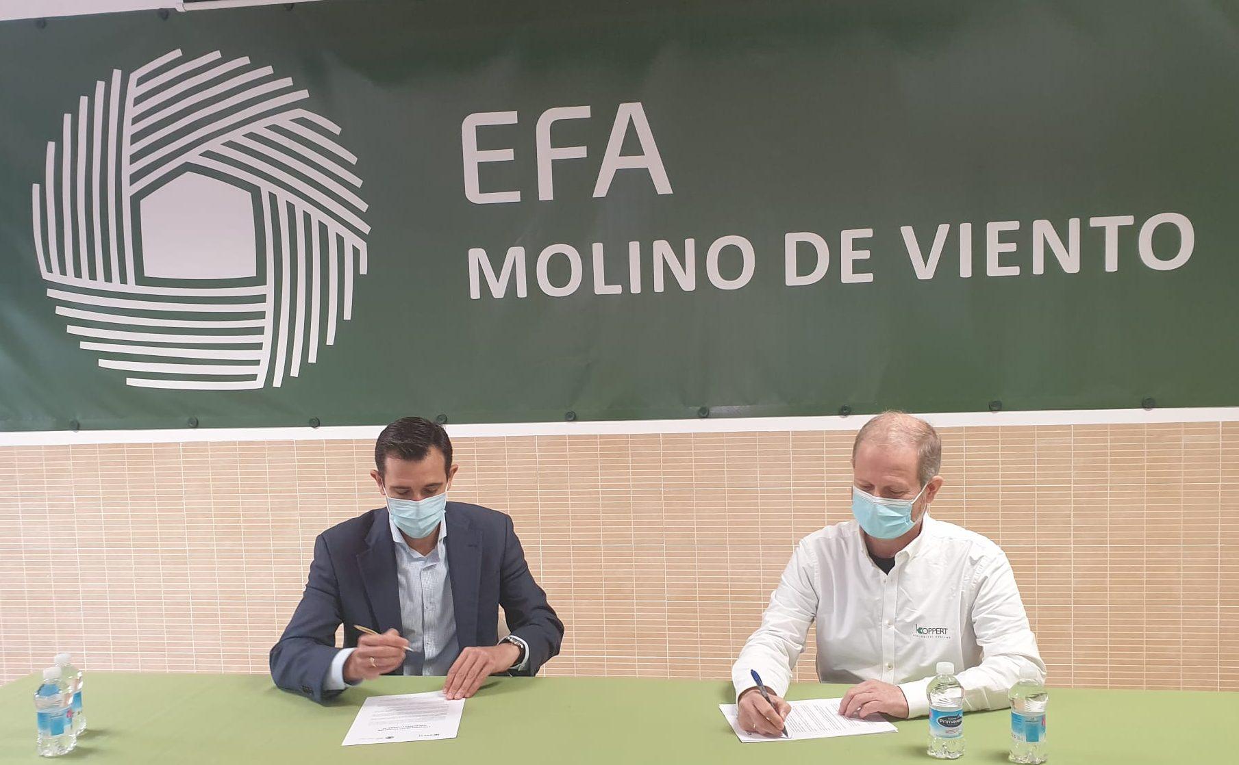 FIRMADO CONVENIO DE COLABORACIÓN ENTRE KOPPERT ESPAÑA, SL Y EFAS CASTILLA LA MANCHA Y MADRID