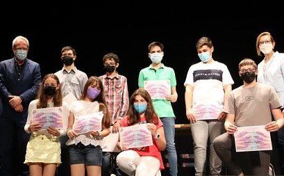 """Alumnos de Efa Moratalaz galardonados en el IV Certamen de Pintura """"Jóvenes Artistas de Manzanares"""""""
