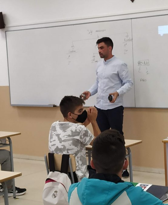 Tertulia profesional Miguel Ángel Escribano